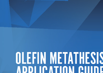 """discovery of olefin metathesis """"we are pleased that our metathesis platform will be used by merck to enhance its drug discovery  materia was founded in 1998 to commercialize olefin metathesis."""